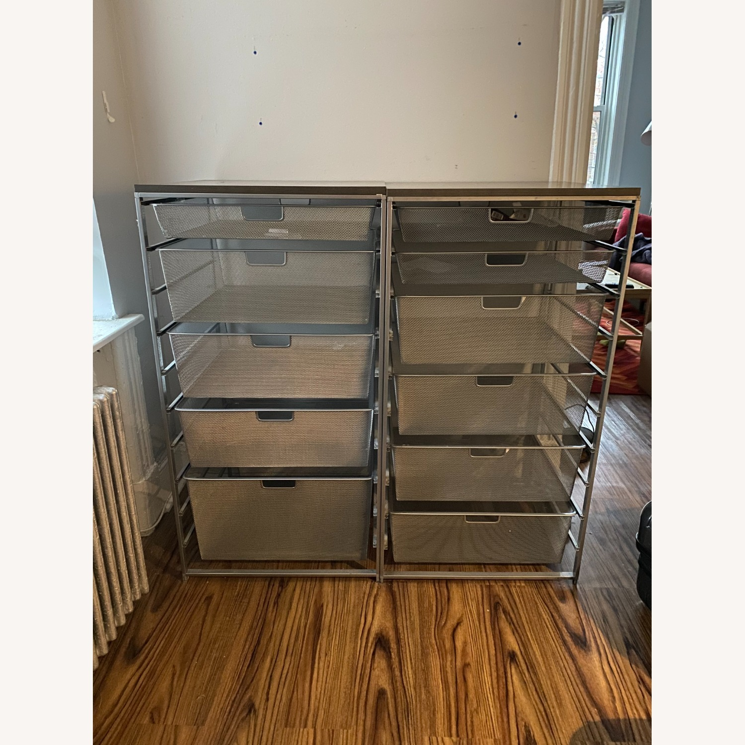 Container Store Metal Mesh Dressers - image-1