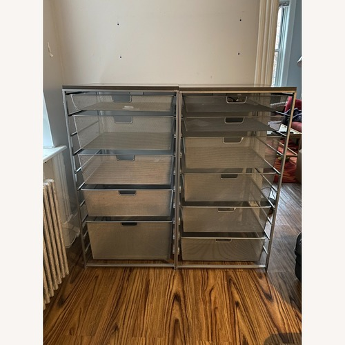 Used Container Store Metal Mesh Dressers for sale on AptDeco