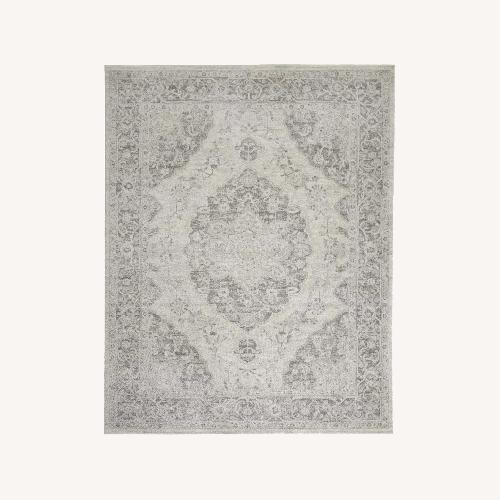Used Nourison Tranquil Ivory Area Rug for sale on AptDeco