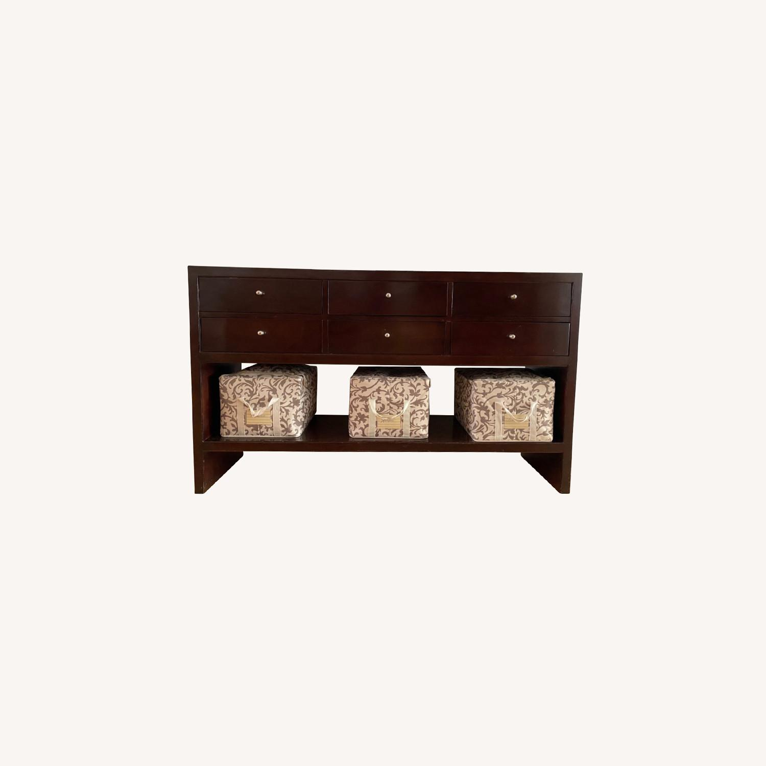 Baker Mid Century Modern Console Table - image-0