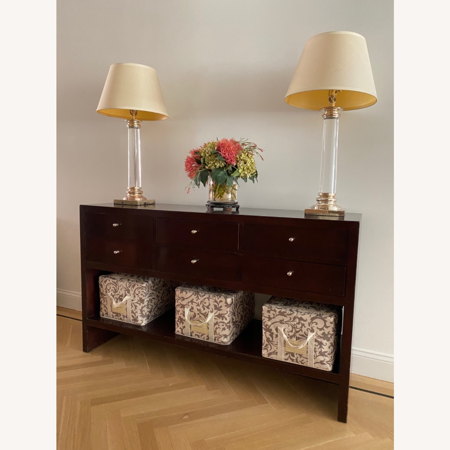 Baker Mid Century Modern Console Table - image-2