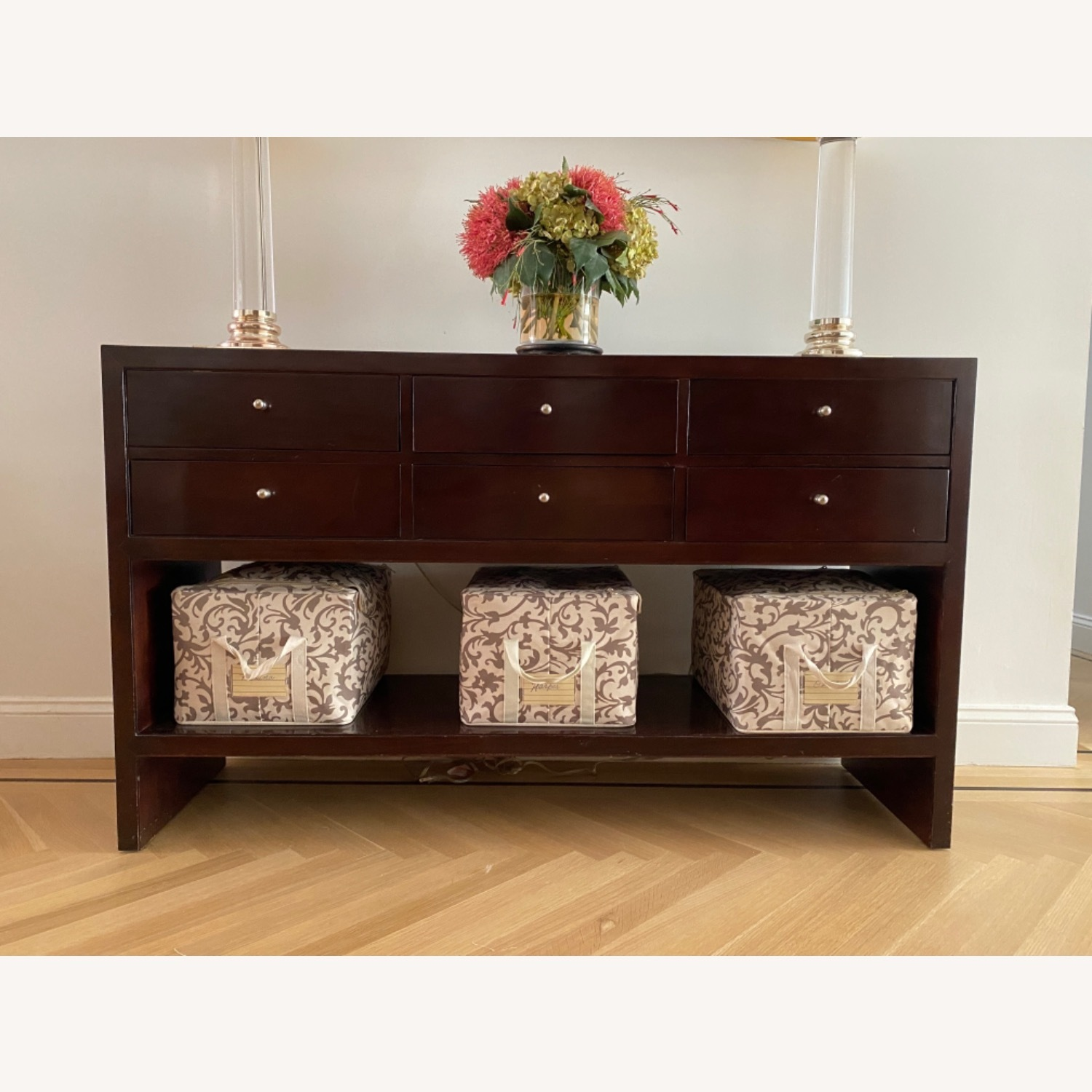 Baker Mid Century Modern Console Table - image-1