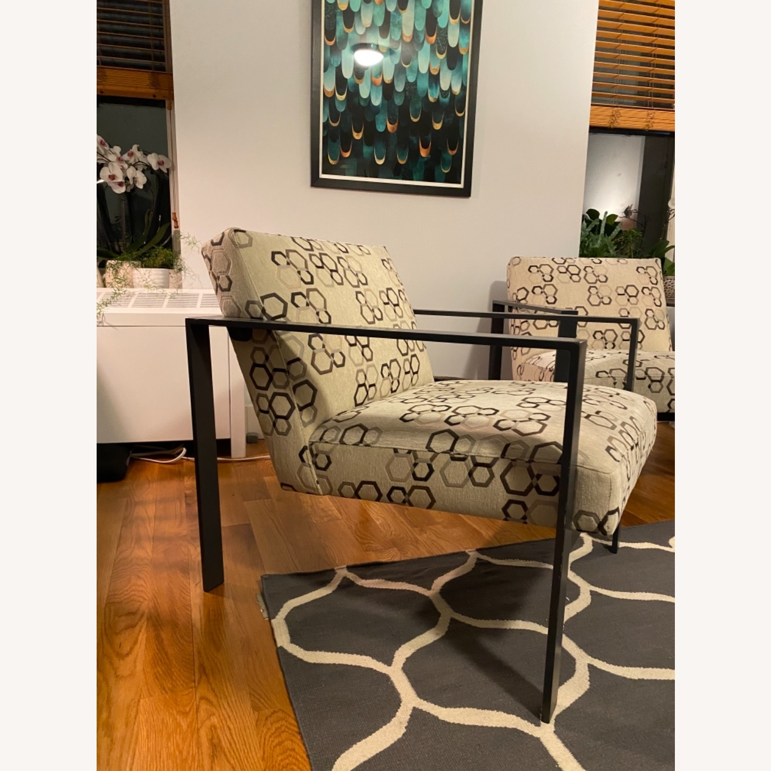 ABC Home Steel Frame Upholstered Chairs - image-2
