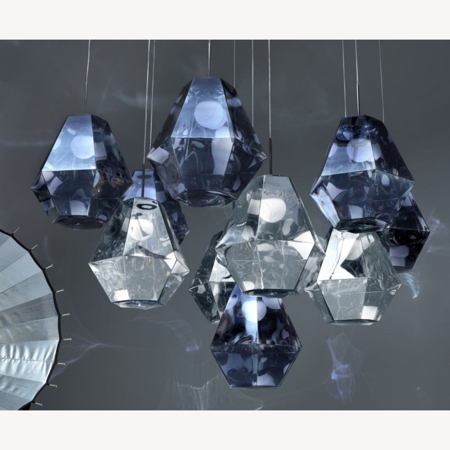 Tom Dixon Cut Tall Pendant Light - image-7