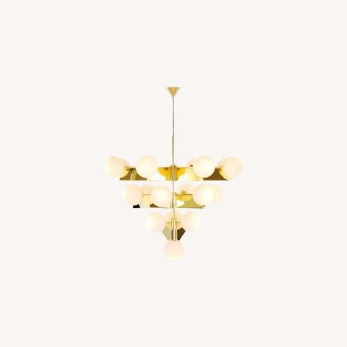 Used Tom Dixon Plane Chandelier for sale on AptDeco