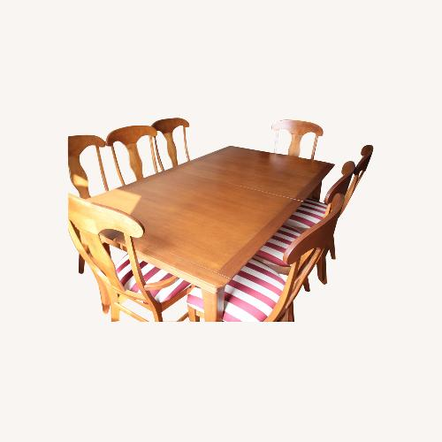 Used Shermag Canada Maple Wood Dining Chairs for sale on AptDeco