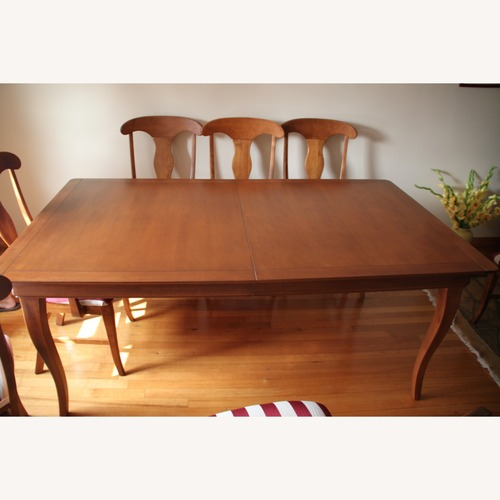 Used Shermag Canada Maple Dining Table for sale on AptDeco