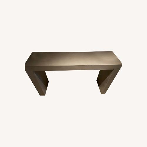 Used Umbra Concrete Entrance Table for sale on AptDeco