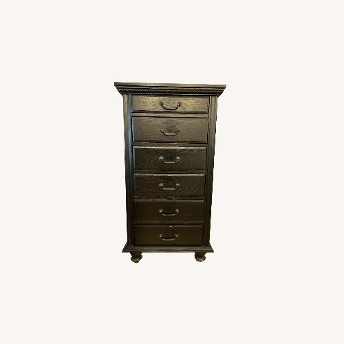 Used Restoration Hardware 6 Drawer Narrow Dresser for sale on AptDeco