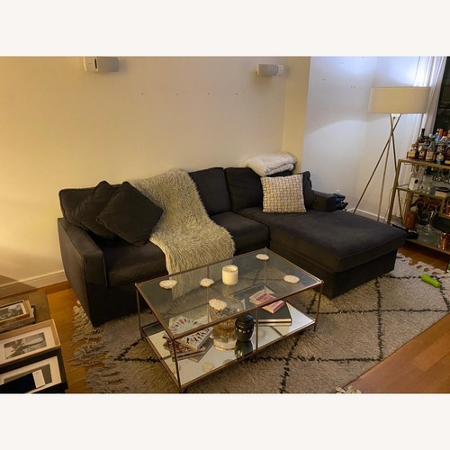 Used Rowe Furniture Chaise Sectional for sale on AptDeco