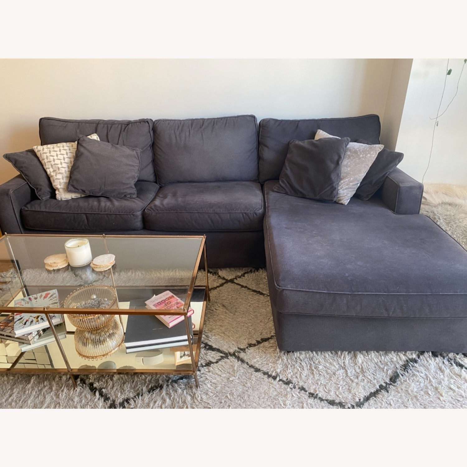 Rowe Furniture Chaise Sectional - image-3