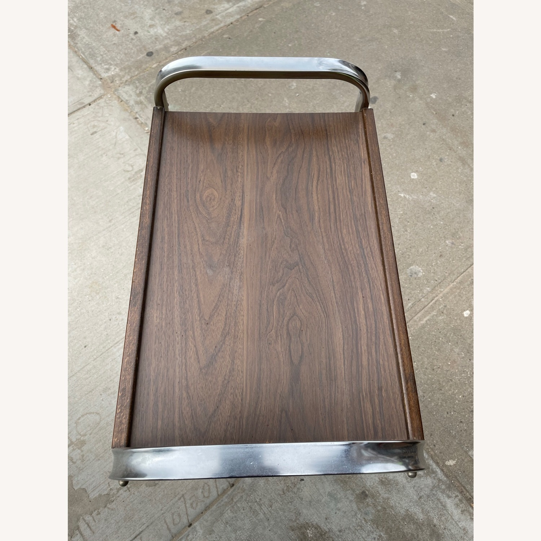 Vintage Mid Century Bar Cart - image-13