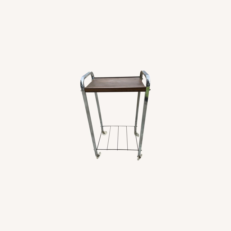 Vintage Mid Century Bar Cart - image-0