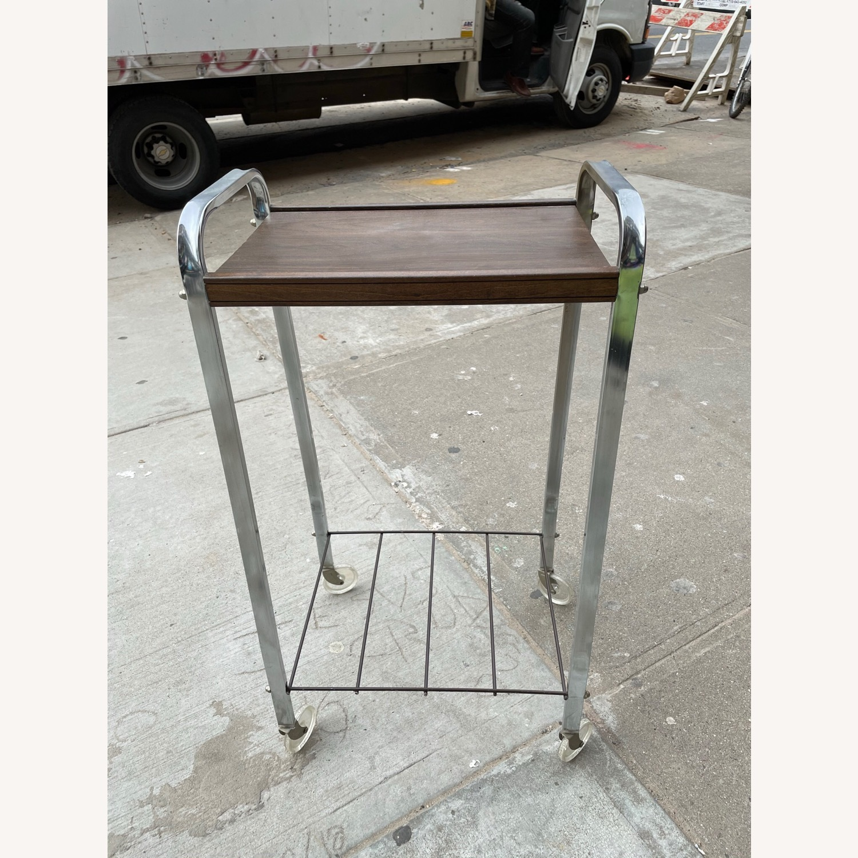 Vintage Mid Century Bar Cart - image-1