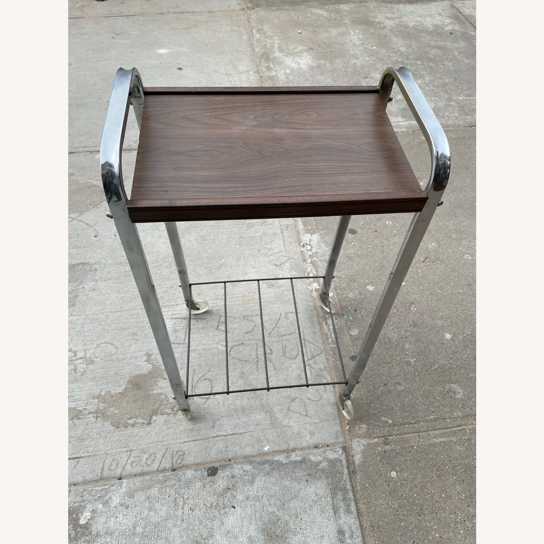 Vintage Mid Century Bar Cart - image-16