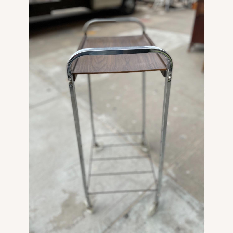 Vintage Mid Century Bar Cart - image-8