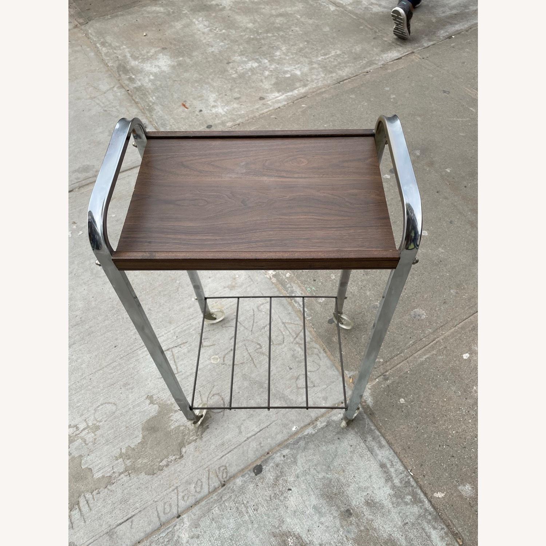 Vintage Mid Century Bar Cart - image-2