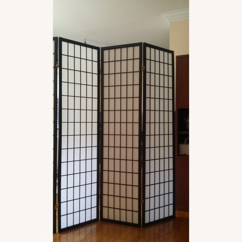 Used Oriental Shoji 4 Panel Folding Room Divider for sale on AptDeco