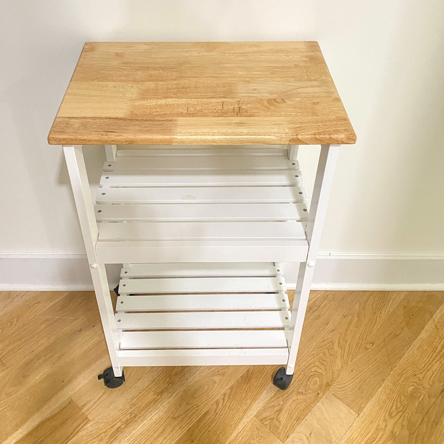 Utility Kitchen Cart/Microwave Stand - image-3