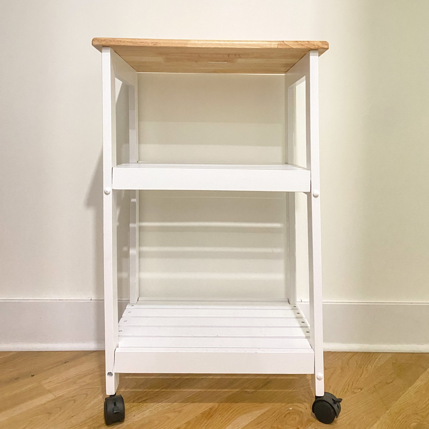 Utility Kitchen Cart/Microwave Stand - image-1