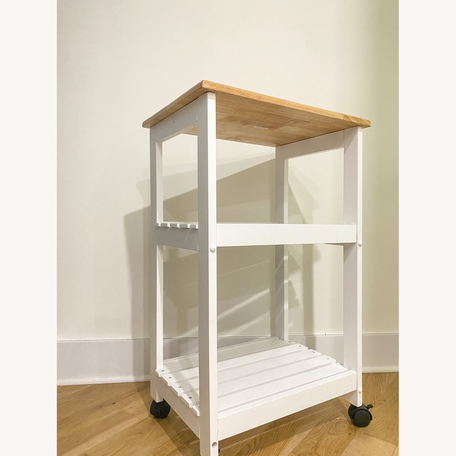 Utility Kitchen Cart/Microwave Stand - image-2