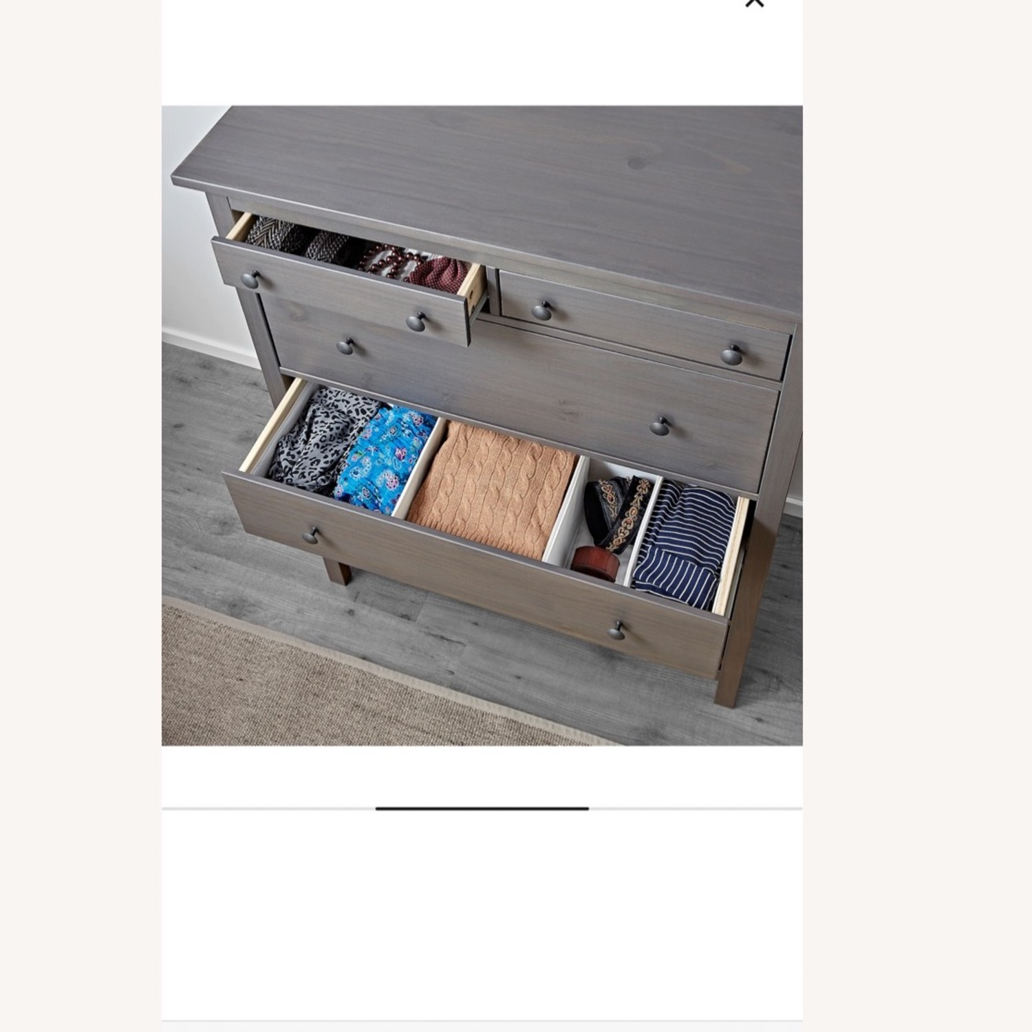 IKEA 6 Drawer Chest - image-3