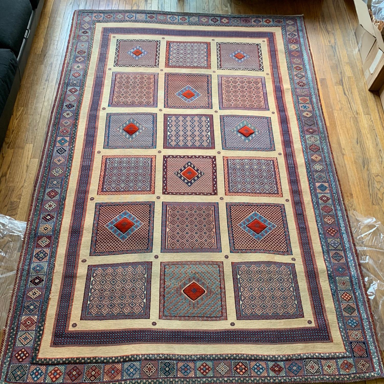 ABC Carpet Handmade Baloosh Soumak Area Rug - image-3