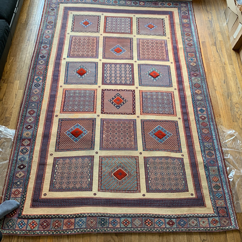 ABC Carpet Handmade Baloosh Soumak Area Rug - image-2
