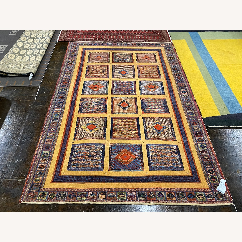 ABC Carpet Handmade Baloosh Soumak Area Rug - image-4