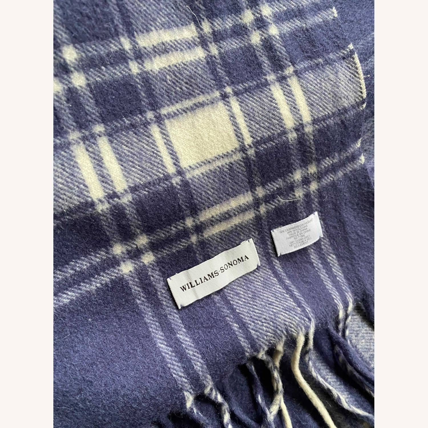 Williams Sonoma Cashmere-Wool Throw - image-3