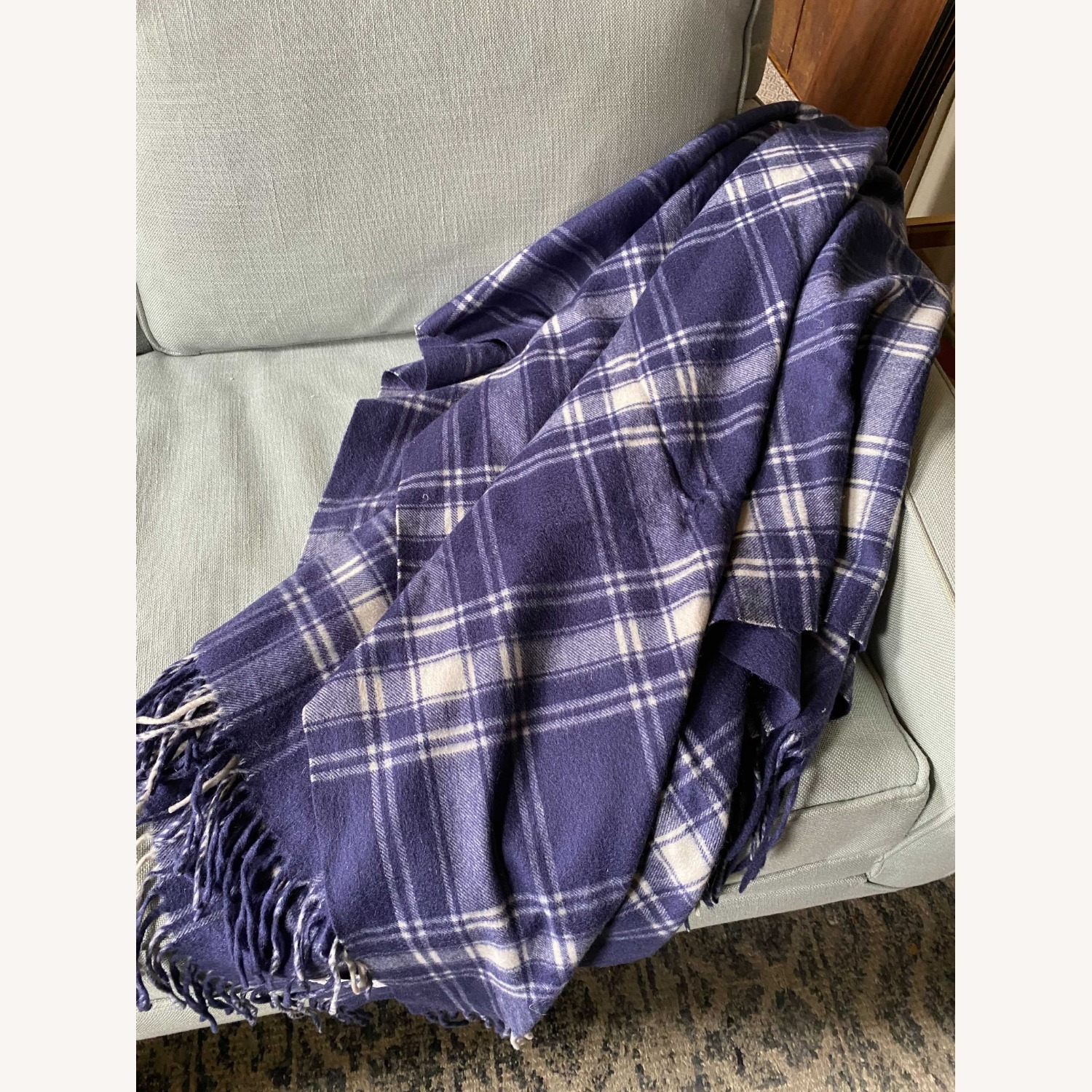 Williams Sonoma Cashmere-Wool Throw - image-2