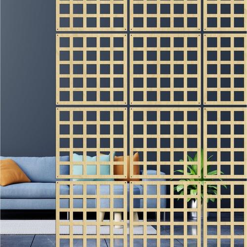 Used Laser-Cut Wall Hanging Room Divider Partition Set for sale on AptDeco