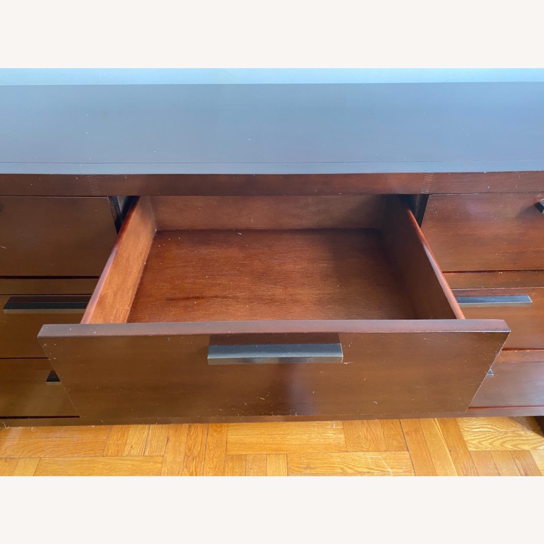 Casana 7 Drawer Dresser in Cherry Finish - image-4