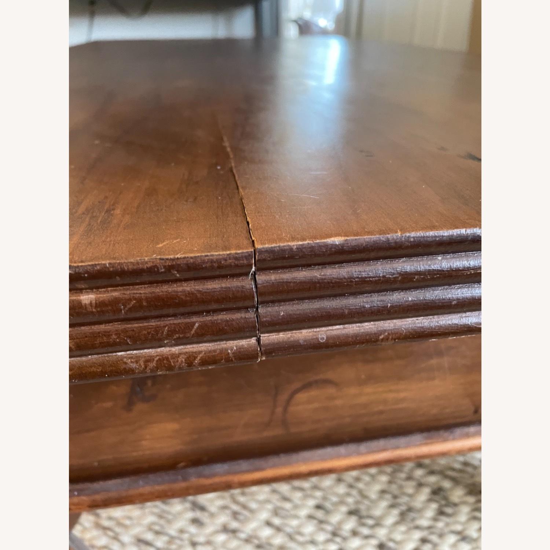 Antique Mahogany Coffee Table - image-4