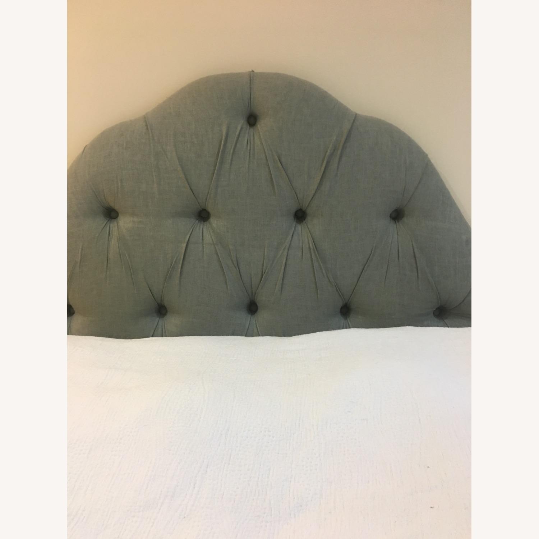 Skyline Furnited Tufted Linen Headboard - Queen - image-2