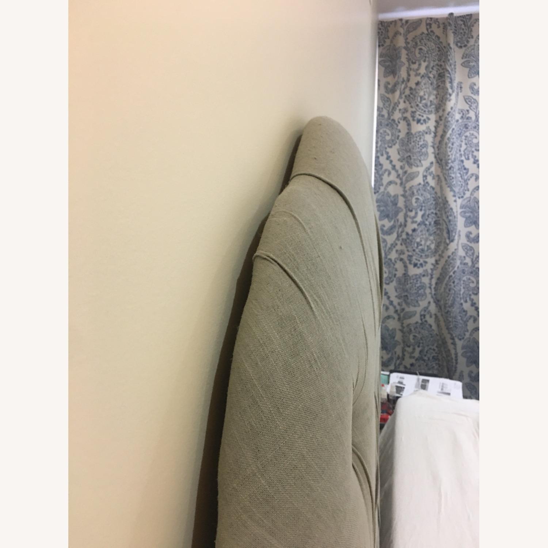 Skyline Furnited Tufted Linen Headboard - Queen - image-5
