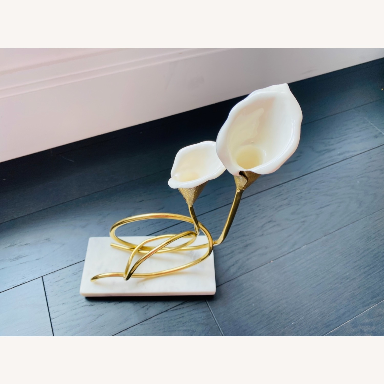 Michael Aram Calla Lilly candle holder - image-4