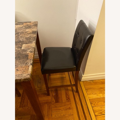 Used Counter Height Dining Set, Cherry for sale on AptDeco