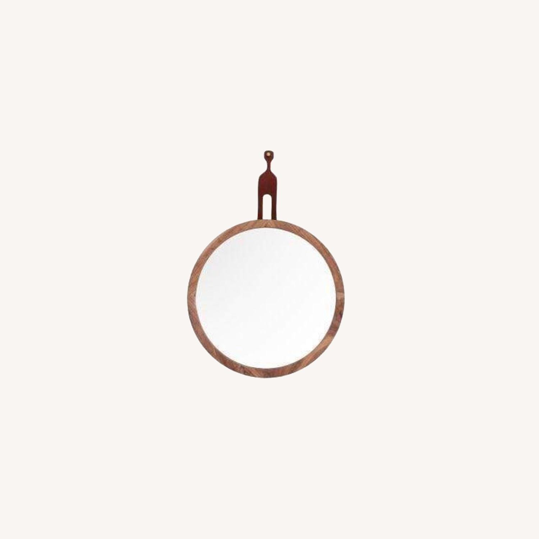 Organic Modernism Mira Round Mirror - image-0