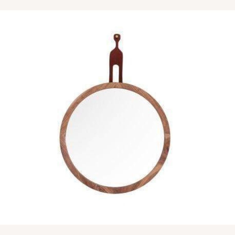 Organic Modernism Mira Round Mirror - image-1