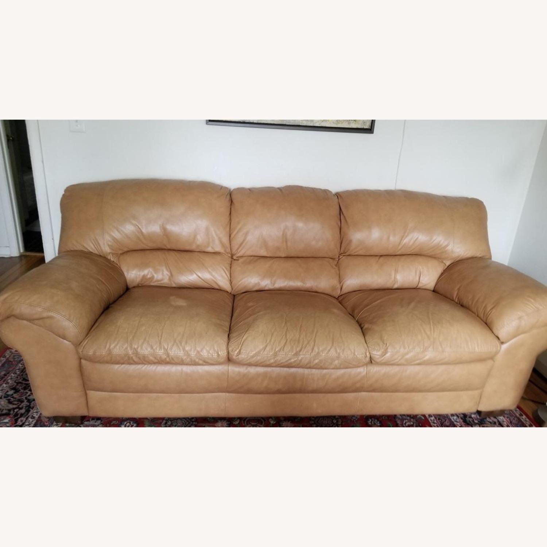 Italiana Divani Leather Sofa - image-2