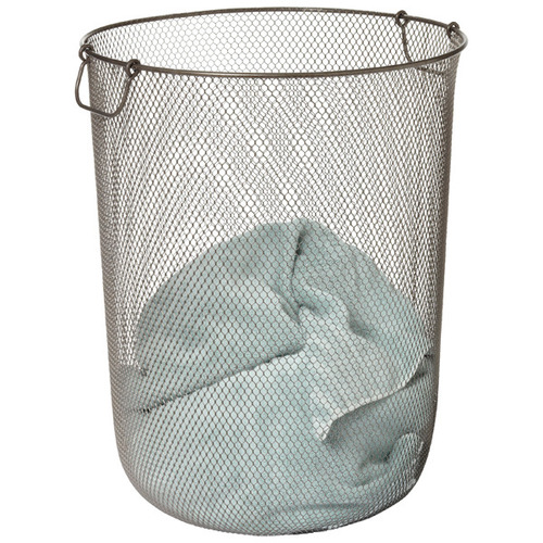 Used Container Store Industrial Mesh Hamper for sale on AptDeco