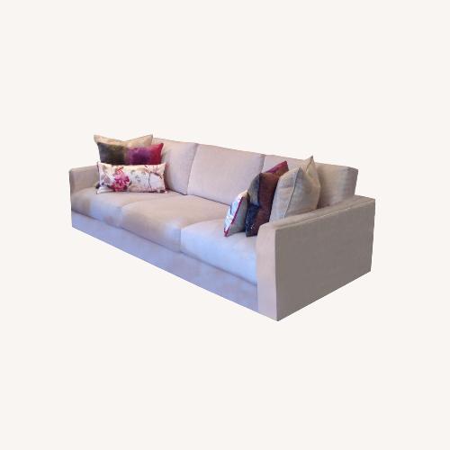 Used Lazar Sofa Textured Ivory for sale on AptDeco