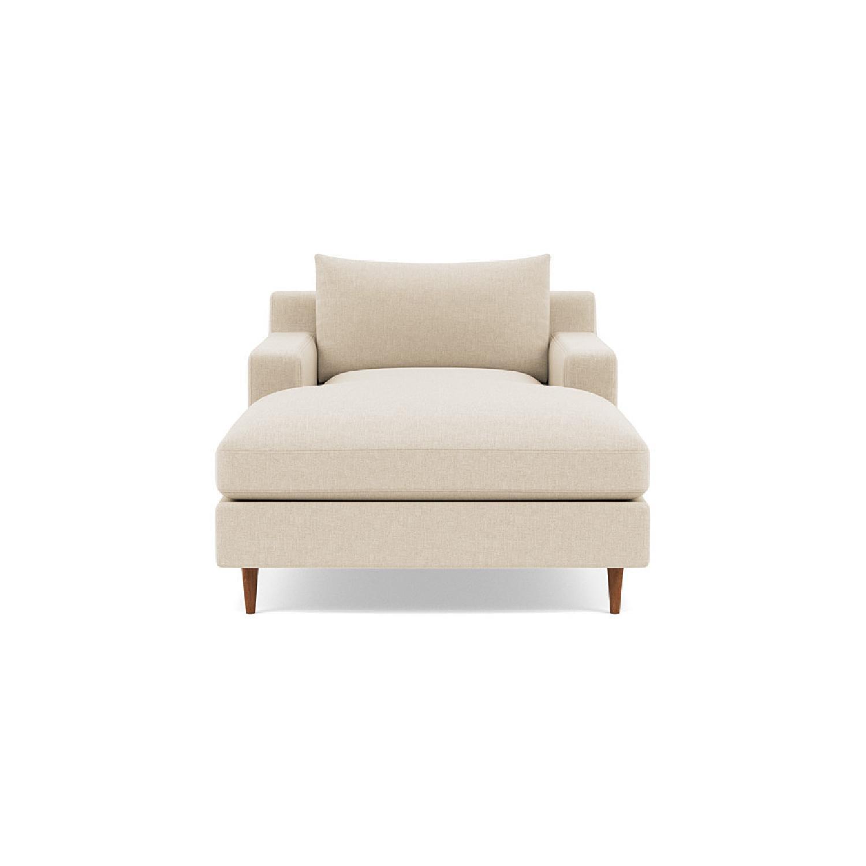 Interior Define Sloan Chaise - Sand fabric - image-4