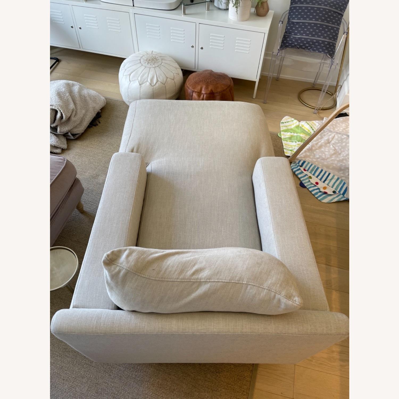 Interior Define Sloan Chaise - Sand fabric - image-7