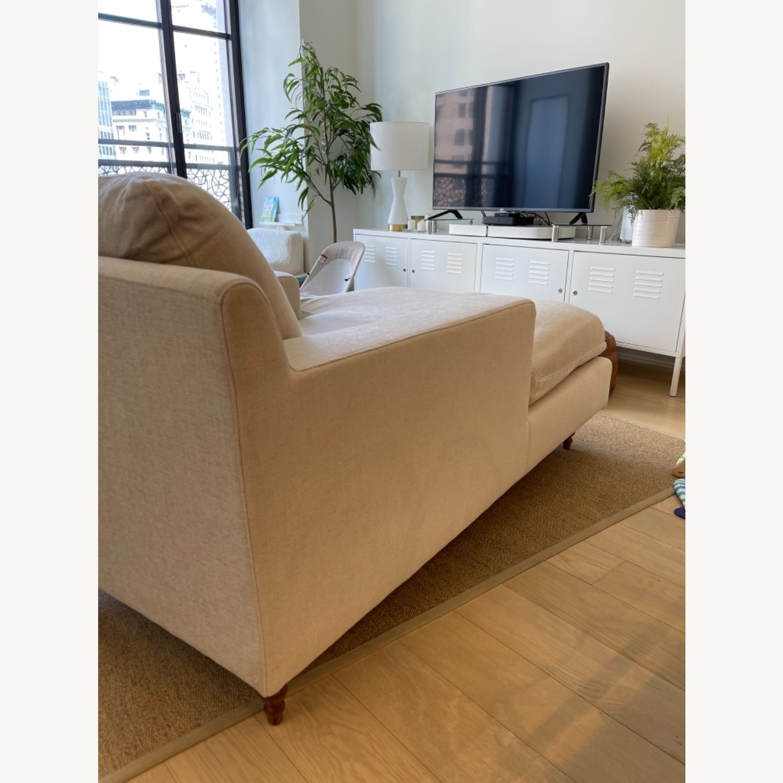 Interior Define Sloan Chaise - Sand fabric - image-6