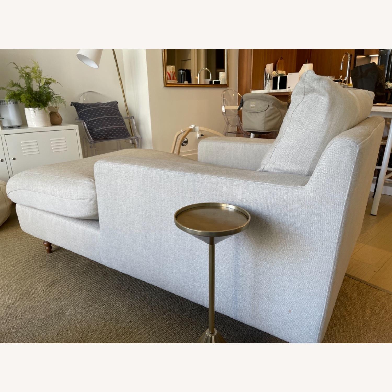 Interior Define Sloan Chaise - Sand fabric - image-8