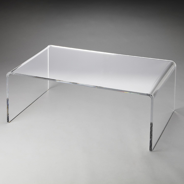 Hayneedle Acrylic Coffee Table - image-5