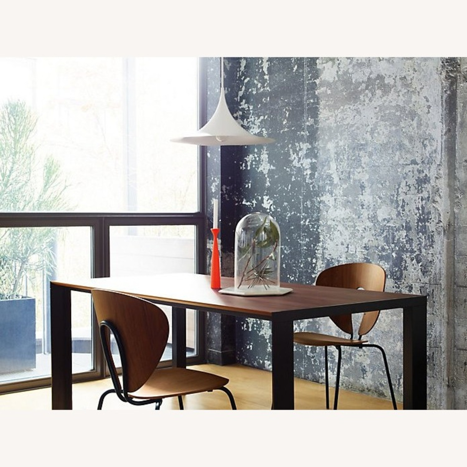 Design Within Reach Deneb Table with Natural Walnut Tabletop - image-4