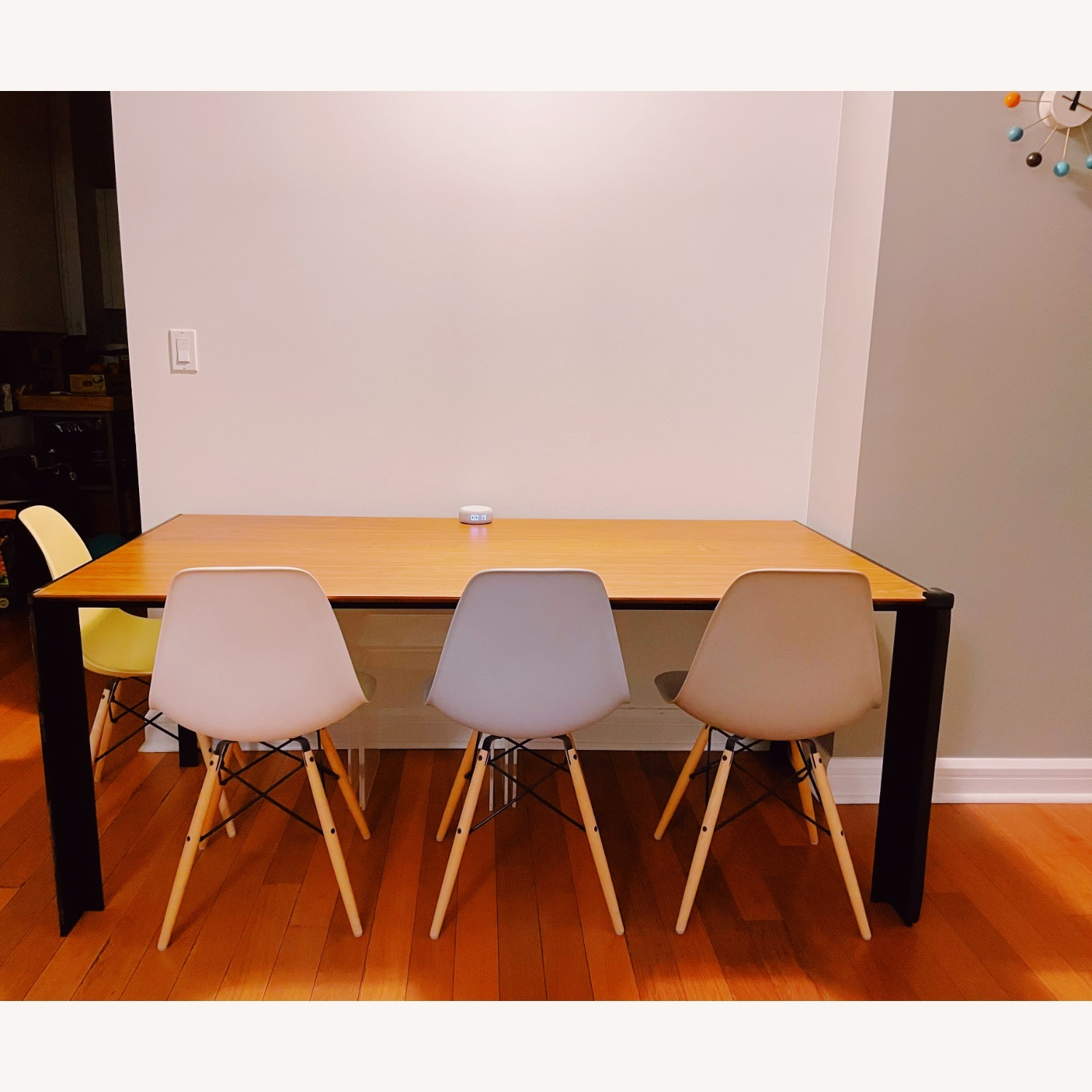 Design Within Reach Deneb Table with Natural Walnut Tabletop - image-1